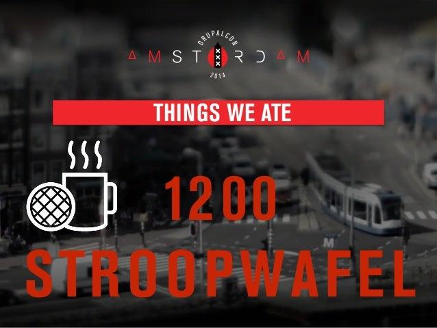 Drupalcon Amsterdam Closing Session