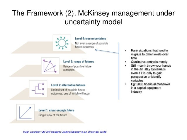 managing under uncertainty course outline Operations management decision-making tools module a a-1 outline decision making & models  making & models decision tables decision making under uncertainty.