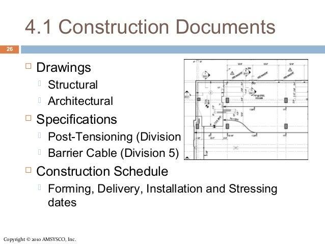 Post Tension Concrete Info Session For Contractors