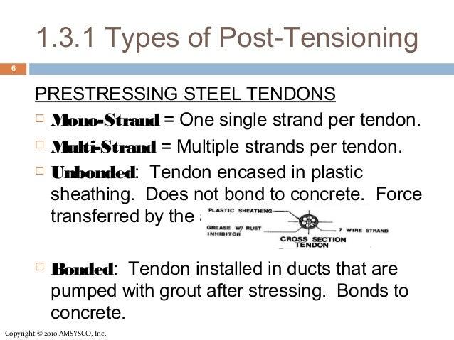 Post-Tension Concrete - Info session for Contractors