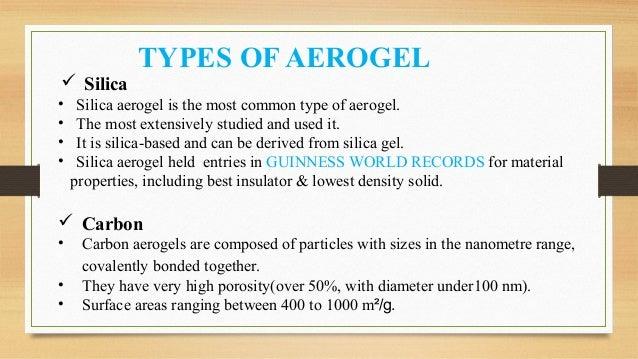 AEROGEL MATERIAL (Aerogel is a material of future  )