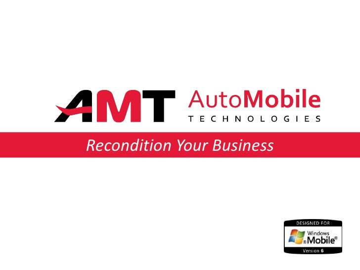 Recondition Your Business<br />