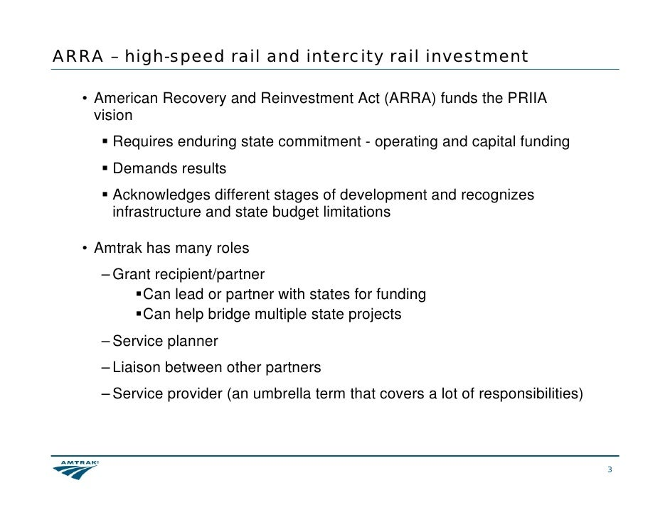Railroad Rehabilitation & Improvement Financing (RRIF)