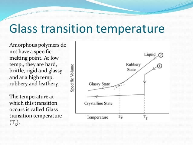 Do Thermosets Have Glass Transition Temperature