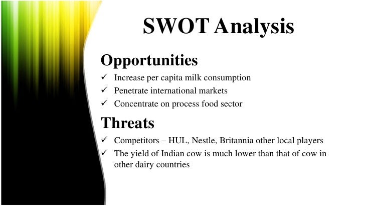 swot analysis of amul Free swot analysis provides free swot analysis of corporates and companies of the world.