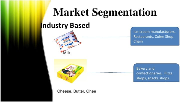 segmentation of chaman ice cream Igloo ice cream company does the market segmentation targeting and positioning to decide which customers it will serve and how by market segmentation it can increase its sales and.