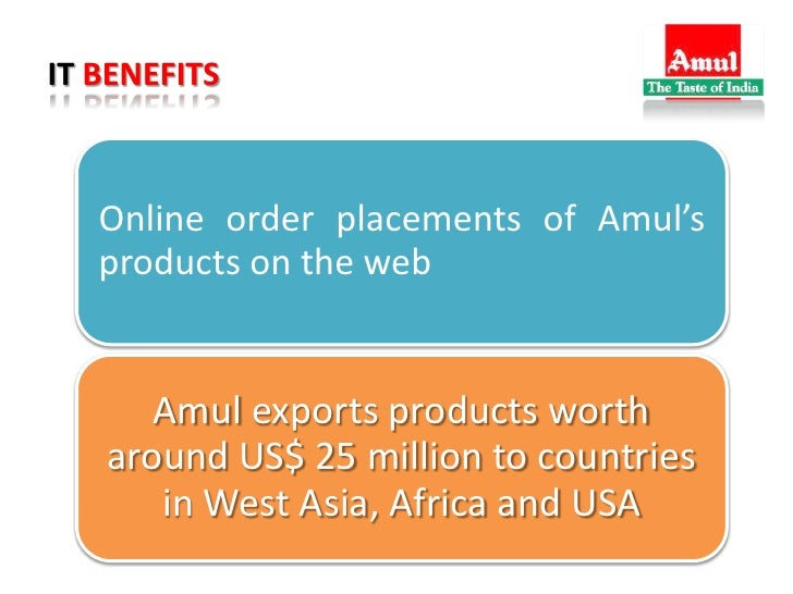 Sales and Distribution Management of Amul Essay