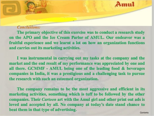 objectives of amul The objective of forming amul cooperative society was to collect milk from the farmers and take it to processing factories this was a way to strengthen the milk farmers.