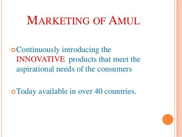 amul target market Some companies that are competitors of the amul dairy brand are havmor ice cream,  which companies are competitors of amul a:  are target and.