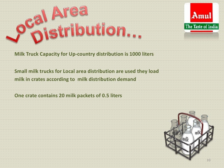 Milk Truck Capacity for Up-country distribution is 1000 litersSmall milk trucks for Local area distribution are used they ...