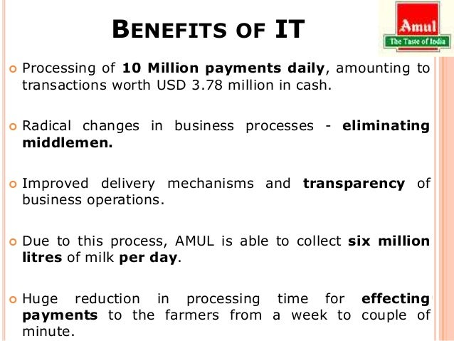 marketing and distribution network of amul Private traders and middlemen controlled the marketing and distribution system for the milk as milk is perishable, farmers were compelled to sell it for whatever they were offered  the network explicitly includes secondary services to the farmer-suppliers  marketing strategy of amul: the marketing strategic of amul is based on four.