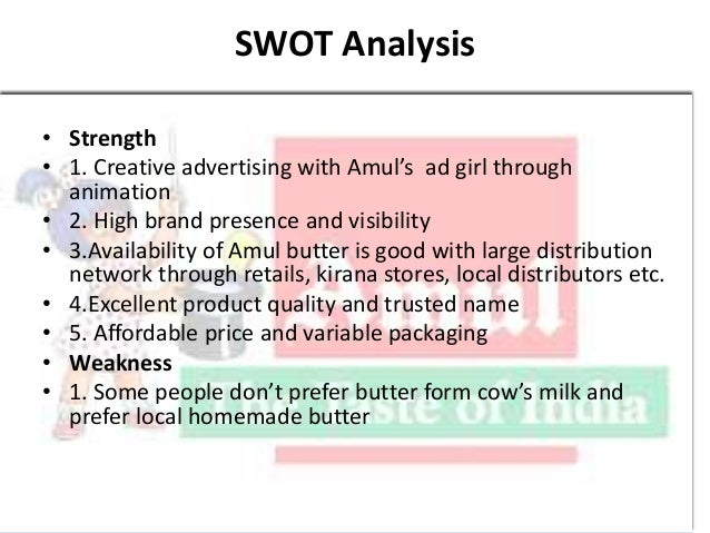 swot analysis of amul chocolate Pestel/pest of dairy industry by adamkasi | dec 13, 2015 including ice cream and chocolate will decrease, negatively impacting the dairy industry pestle-pestel-pest analysis of latvia pestle analysis of lithuania.