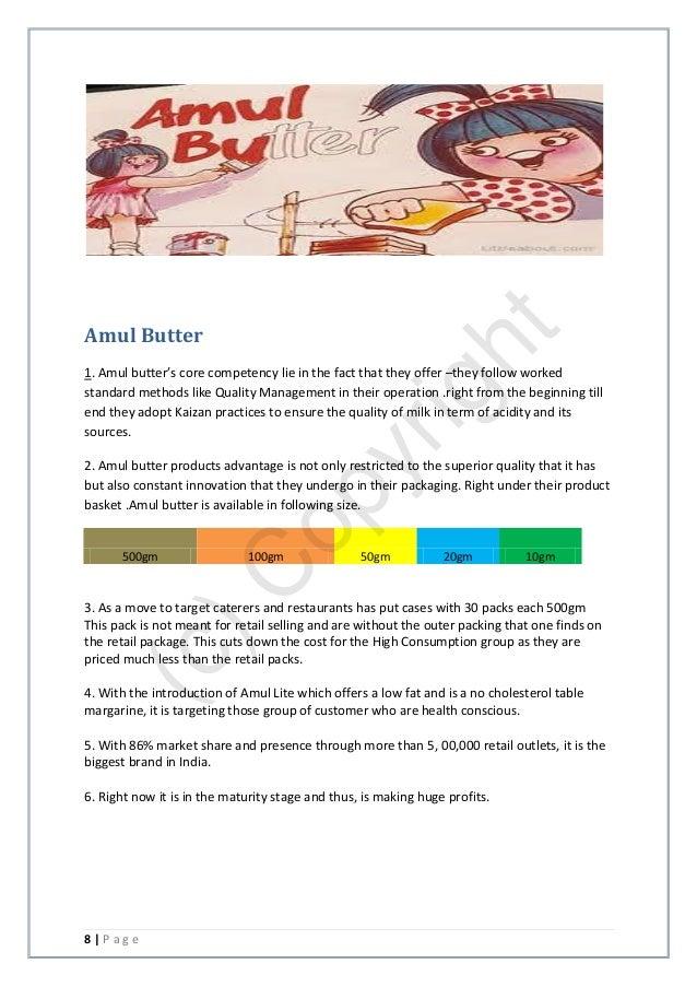 amul butter essay