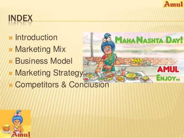 Amul Marketing Mix