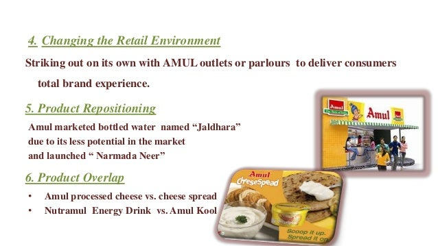 product mix of amul Thus, amul adopted a low-cost price strategy to make its products affordable and  attractive to consumers this helped amul butter create its brand image in the.