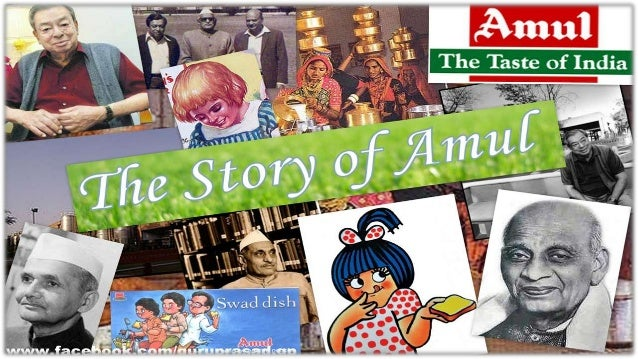 brief history of amul History of credit co-op society in india  the following is only a brief attempt to  the khera district cooperative milk producers milk union known as amul.