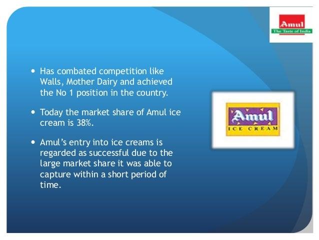 PRESENTATION ON AMUL THE TASTE OF INDIA