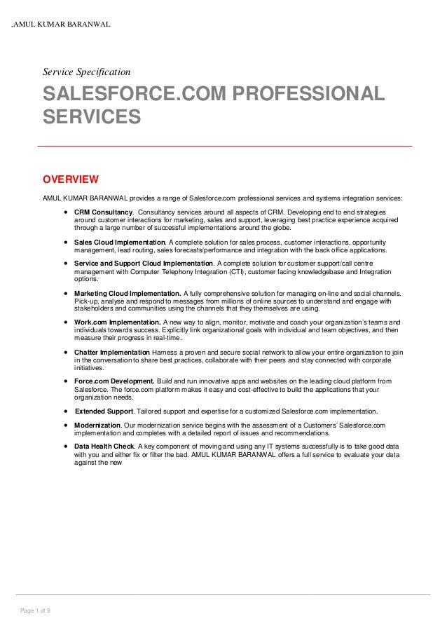 Amul Salesforce Professional Services