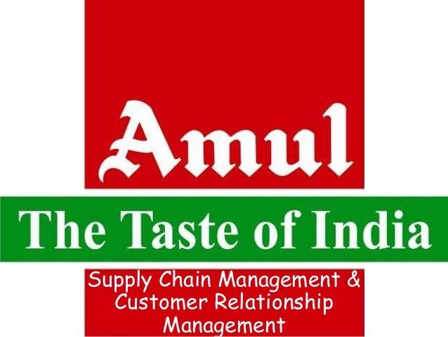 Supply Chain Management &  Customer Relationship  Management