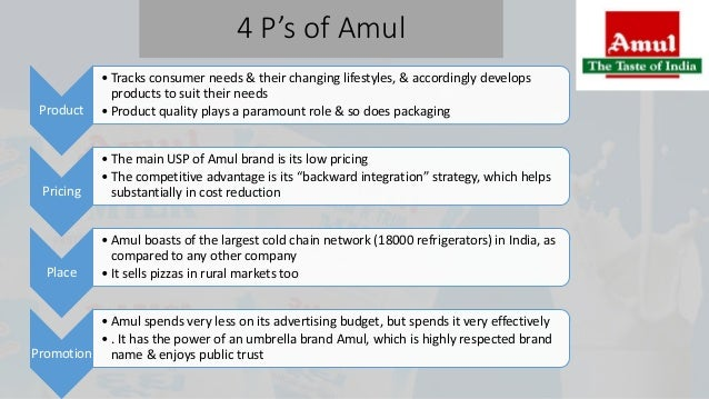 ice cream 4ps Ice-cream & milk unit: aml is the brand owner of igloo ice cream distribution strategy distribution is one of the major workouts of the 4ps of marketing process.