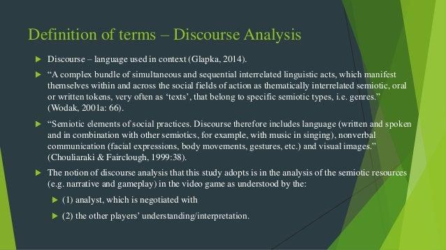a multimodal discourse analysis of video games  a