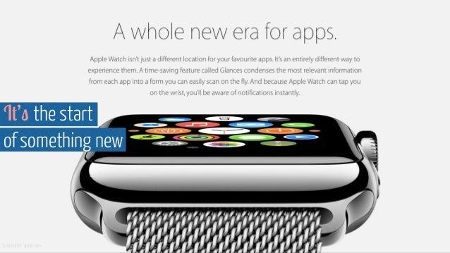 It's the start of something new Screenshot: apple.com Screenshot http://www.apple.com/uk/watch/