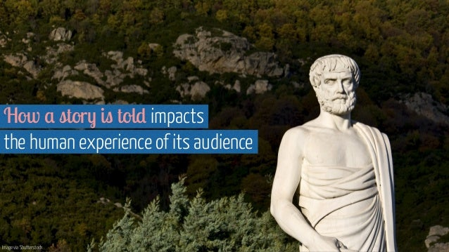 How a story is told impacts the human experience of its audience Image via Shutterstock