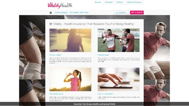 Screenshot: http://www.pruhealth.co.uk/personal/vitality