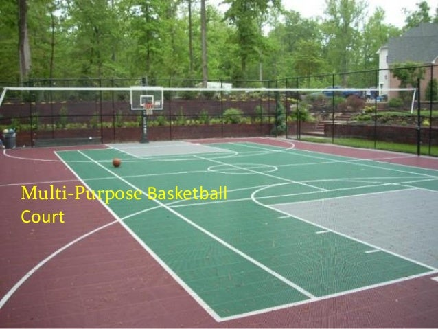 A must know about backyard basketball court options for Residential basketball court cost