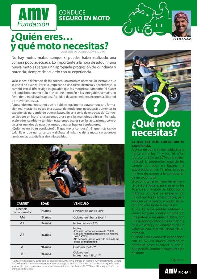 Conduce seguro en moto: Qué moto elegir