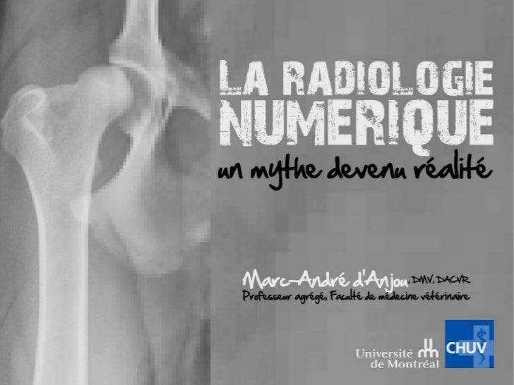 Introduction• L'imagerie numérique a  révolutionné la radiologie  comme la photographie.• Progrès technologiques  à vitess...