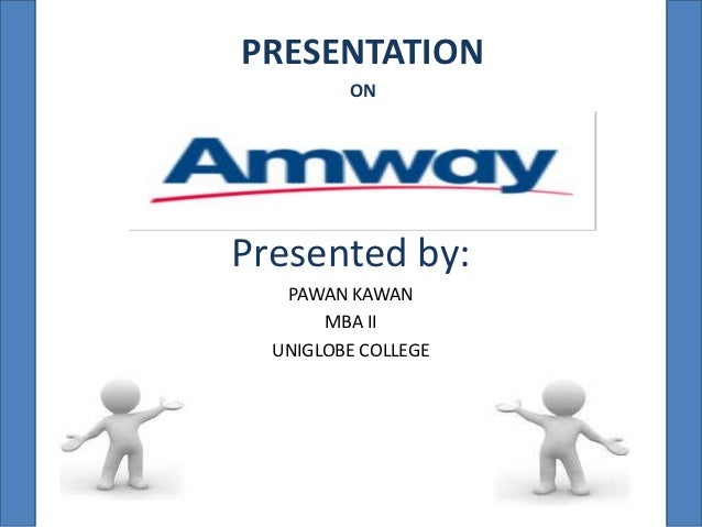 Amway business plan presentation 2012 election