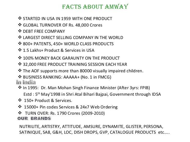 bww amway business plan