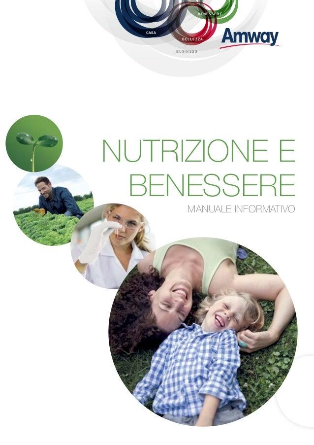 Manuale Nutrizione Nutrilite