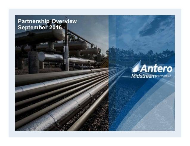 Partnership Overview September 2016