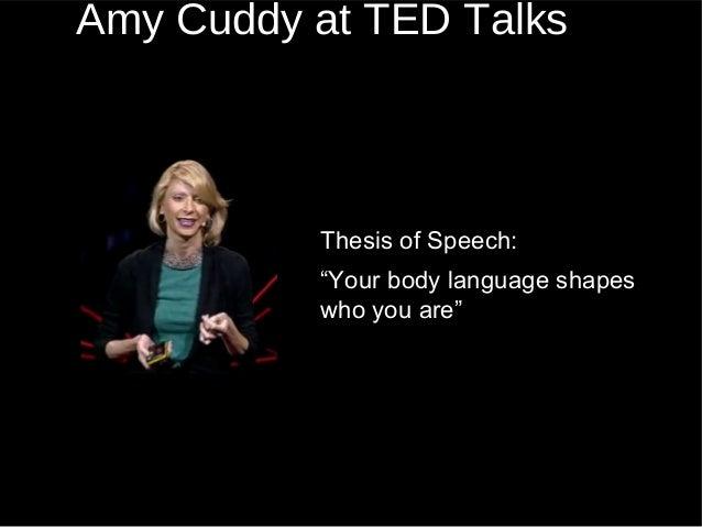 Amy cuddy posture