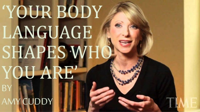 Who is amy cuddy