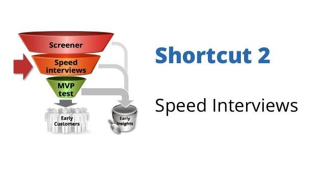 Shortcut 2 Speed Interviews