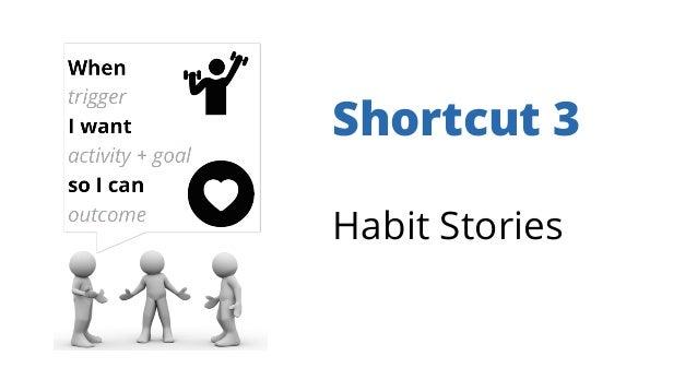Shortcut 3 Habit Stories