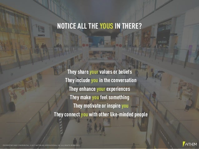 They share your values or beliefs They enhance your experiences They make you feel something They motivate or inspire you ...