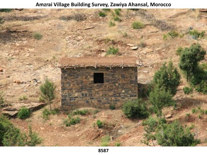 Amzrai Village Building Survey, Zawiya Ahansal, Morocco<br />8587<br />