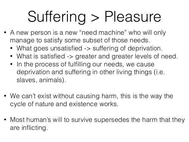 """• A new person is a new """"need machine"""" who will only manage to satisfy some subset of those needs. • What goes unsatisfied ..."""
