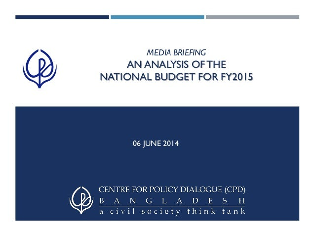 an analysis of budget The militarized budget 2017 april 3, 2017 in 2016, the militarized budget amounted to 64 percent of discretionary spending.