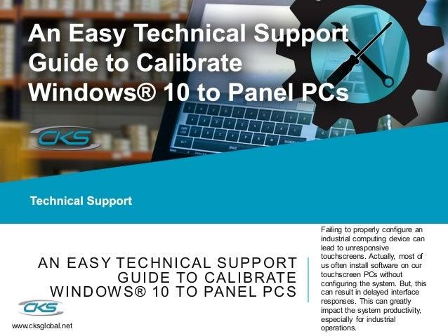 calibration touchscreen windows 10 ▷▷ a c i