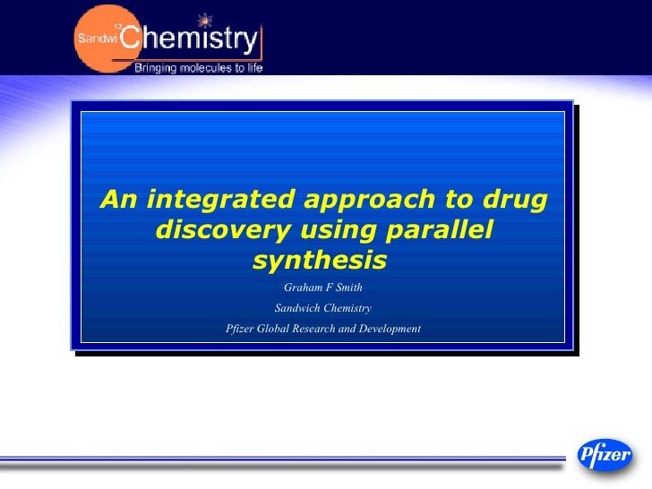 An integrated approach to drug discovery using parallel synthesis   Graham F Smith Sandwich Chemistry Pfizer Global Resear...