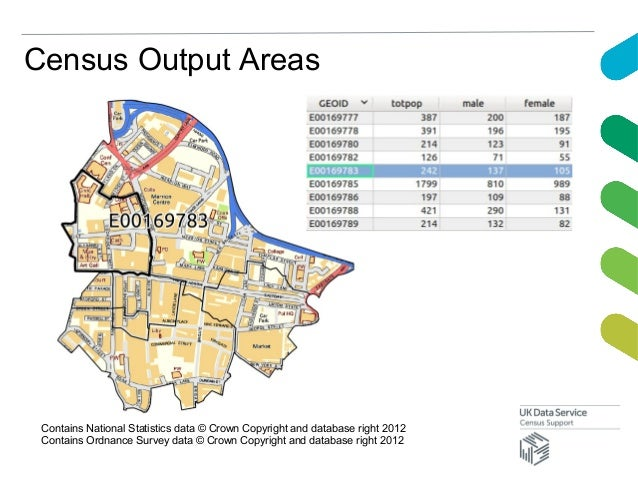 Census Output AreasContains National Statistics data © Crown Copyright and database right 2012Contains Ordnance Survey dat...