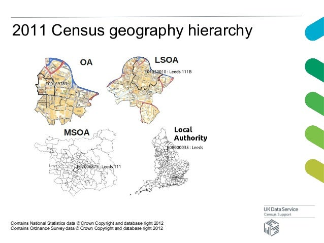 2011 Census geography hierarchyContains National Statistics data © Crown Copyright and database right 2012Contains Ordnanc...
