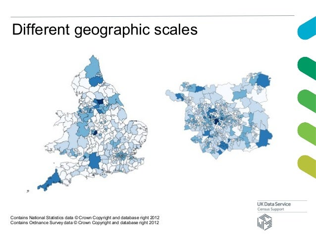 Different geographic scalesContains National Statistics data © Crown Copyright and database right 2012Contains Ordnance Su...