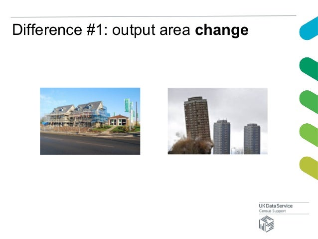 Difference #1: output area change
