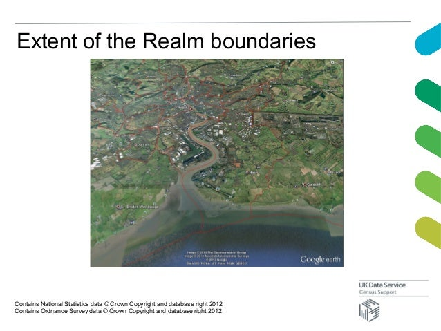 Extent of the Realm boundariesContains National Statistics data © Crown Copyright and database right 2012Contains Ordnance...